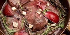 Блюда из оленя